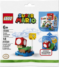 LEGO Super Mario Super Mushroom Surprise Expansion Set 30385