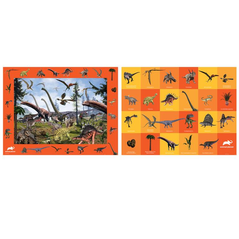 Build, Spot, & Learn Floor Puzzle - Dinosaurs