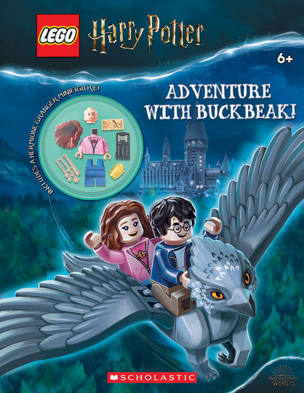 Scholastic - Lego Harry Potter: Adventure with Buckbeak - Édition anglaise