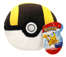 "Pokémon 4"" Pokeball Plush - Ultra Ball"