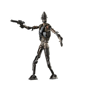 Star Wars The Black Series, jouet de collection droïde IG-11, The Mandalorian, figurine articulée de 15 cm.