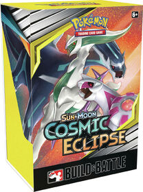 Pokemon Sun & Moon Cosmic Eclipse Build & Battle Box