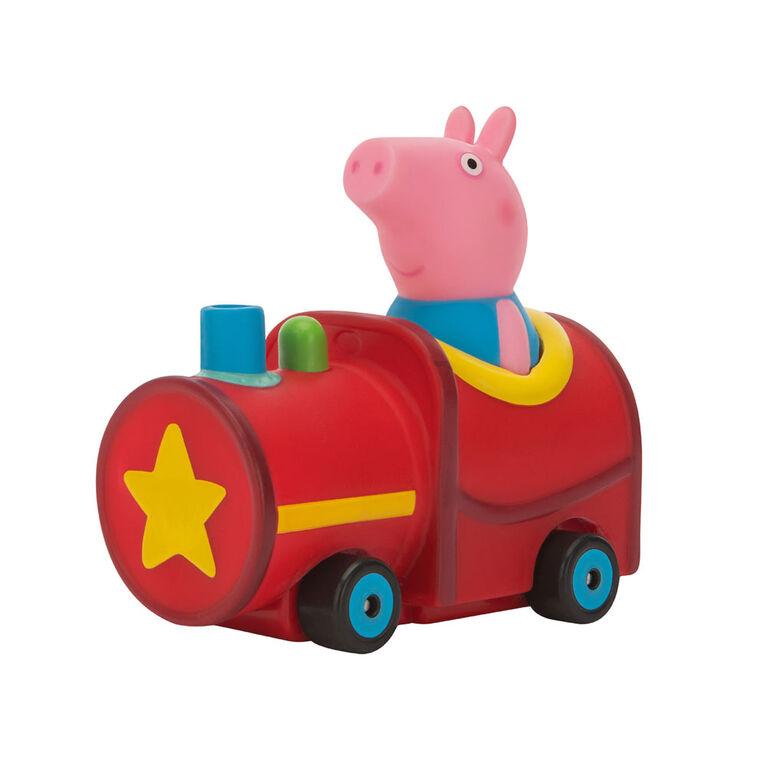 Peppa Pig - George in train - English Edition
