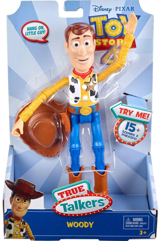 Disney/Pixar Toy Story True Talkers Woody Figure  - English Edition