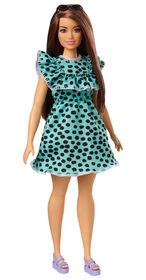 Barbie Fashionistas- Poupée149, - robe à pois