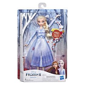 Disney Frozen Singing Elsa Fashion Doll with Music (French Version)