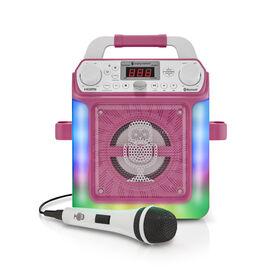 Singing Machine - Groove Mini - Pink