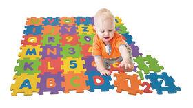 Tapis Puzzle en Mousse Alphabet et Nobres