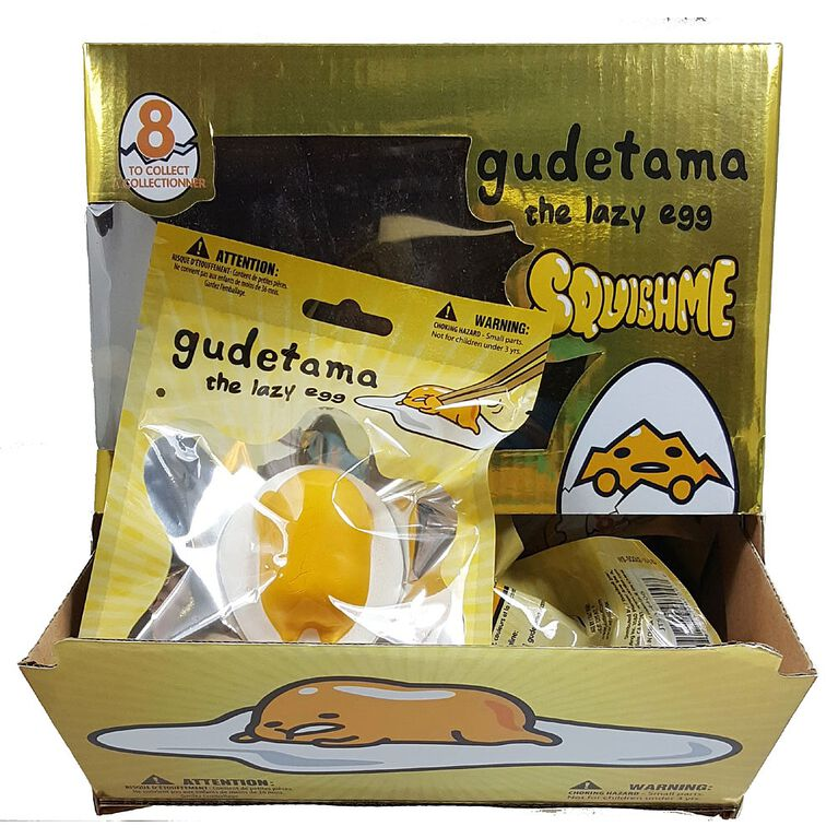 Gudetama the Lazy Egg - SquishMe