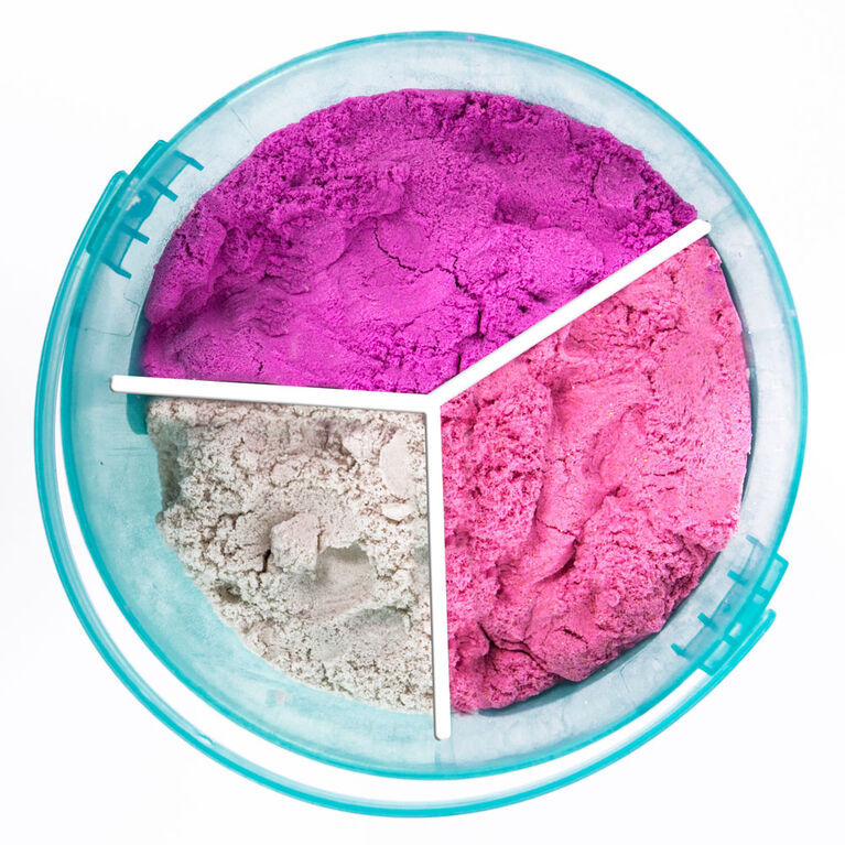 Pink, Purple & White Glitter SLIMYGLOOP SLIMYSAND5 LB. Bucket