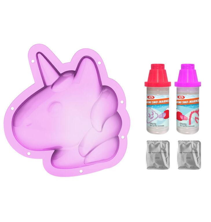 Ideal Sno Toys Sno Shape- Unicorn