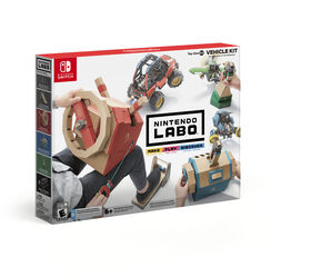 Nintendo Labo Toy-Con 03: Vehicle Kit