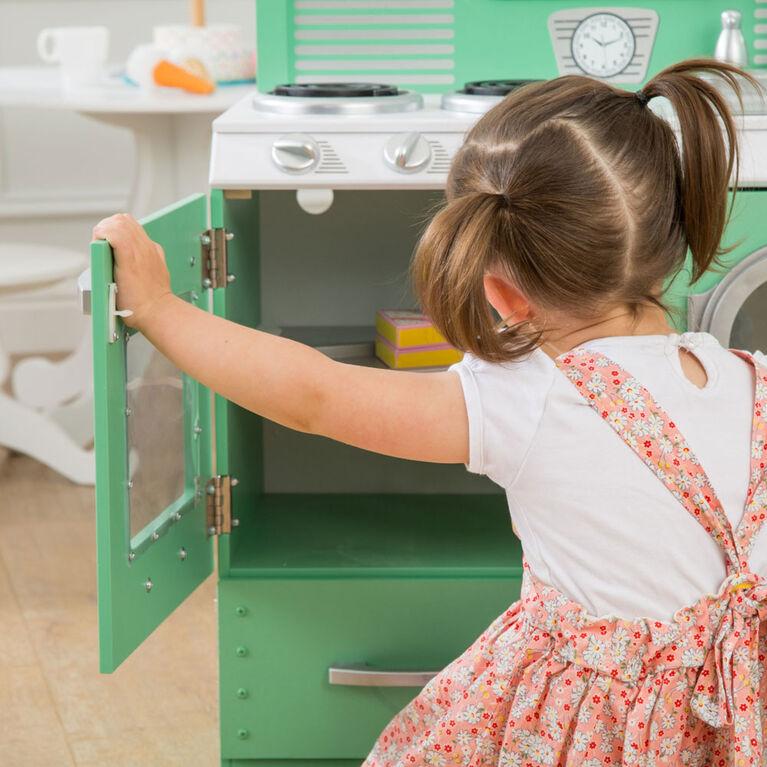 Cuisine enfant en bois 2 parties Homestyle