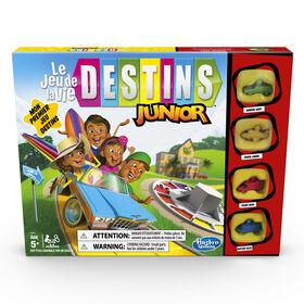 Jeu Destins Le jeu de la vie Junior (Version Français)
