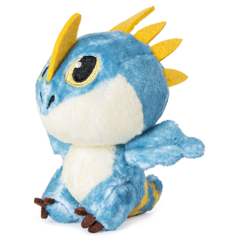 How To Train Your Dragon, Baby Stormfly 3-inch Plush, Cute Collectible Plush Dragon in Egg