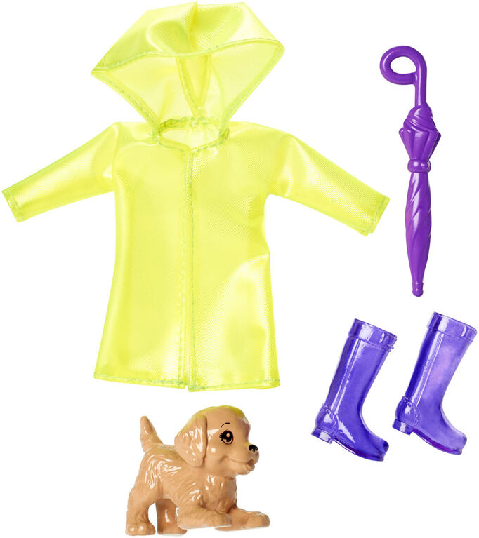 Barbie Club Chelsea Rainy Day Accessory Pack.