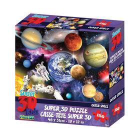Howard Robinson - Outer Space 150 pièces - Casse-tête Super 3D