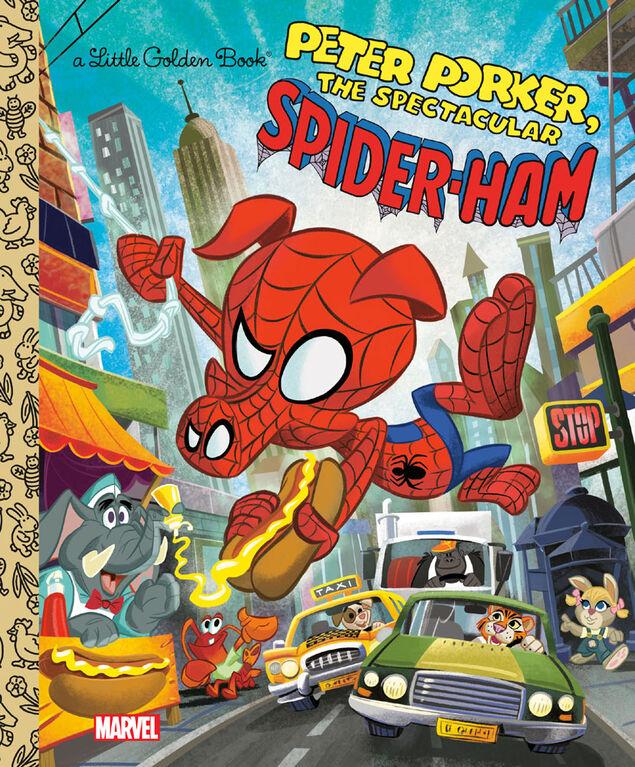 Spider-Ham Little Golden Book (Marvel Spider-Man) - Édition anglaise