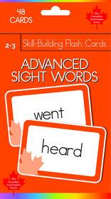 Grade 2-3 Skill Build-Advanced Sight Words - Édition anglaise