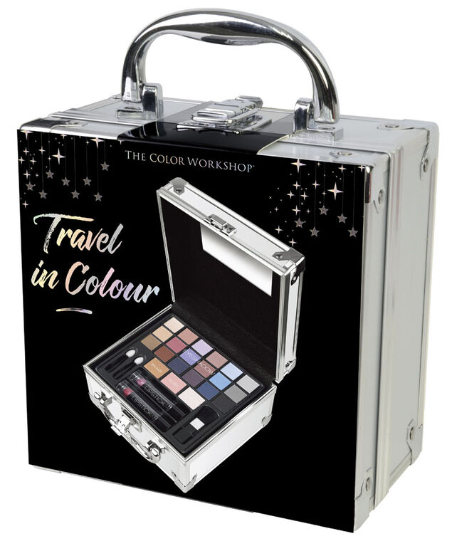The Color Workshop Voyagez en couleurs malle de maquillage