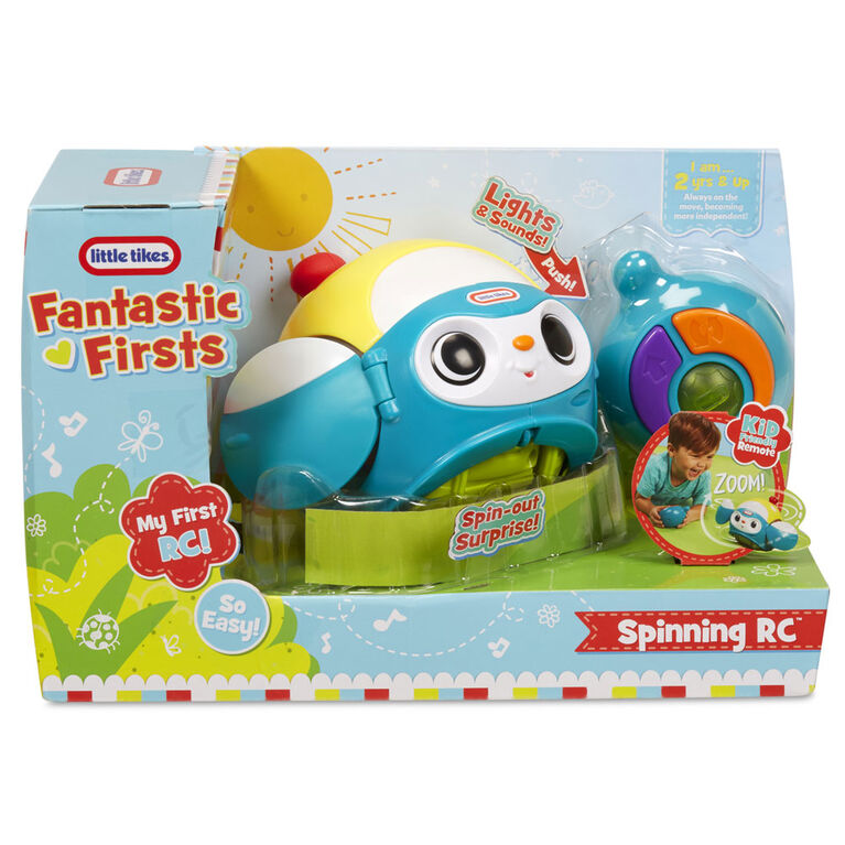 Little Tikes - Spinning RC - Blue