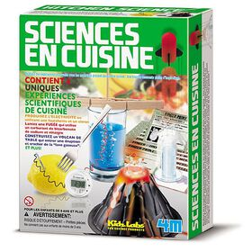 4M Kitchen Science - French Edition