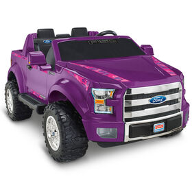 Fisher-Price Power Wheels - Ford F-150 violet.