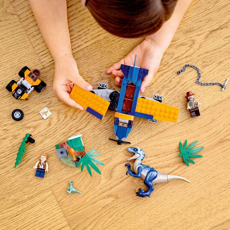 LEGO Jurassic World Vélociraptor : la mission de sauvetage e 75942