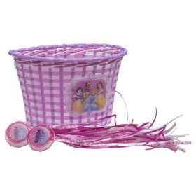 Disney Princess - Basket and Streamer Bike Accessory Pack