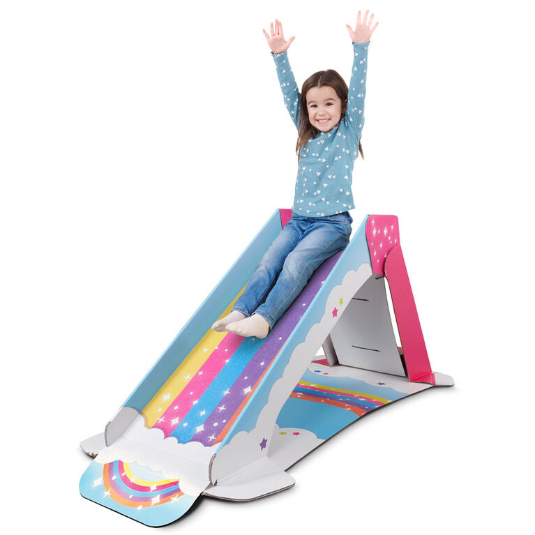 Pop2Play Toddler Rainbow Slide by WowWee