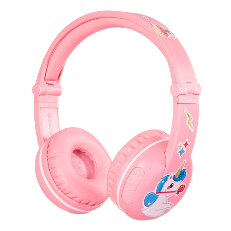 BuddyPhones Play Wireless - Sakura Rose