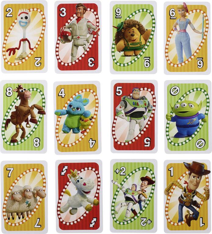 Disney Pixar Toy Story 4 UNO Card Game - English Edition