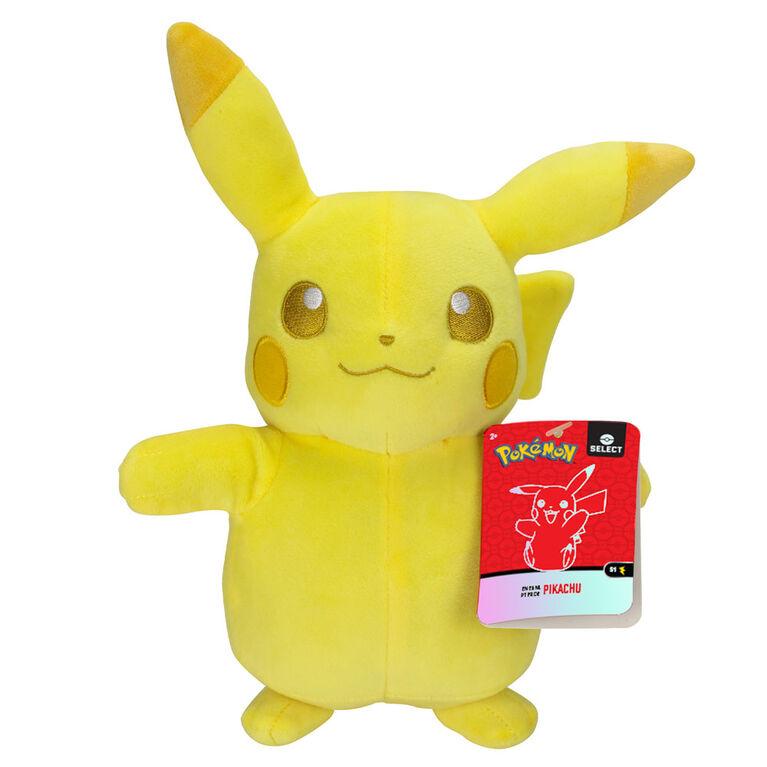 Peluche Pokémon de 20 cm - Pikachu tonal