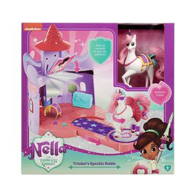 Nella the Princess Knight - Trinket's Sparkle Stable Playset