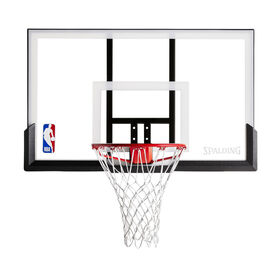 """Spalding NBA 52"""" Acrylic Basketball Backboard & Rim Combo"""