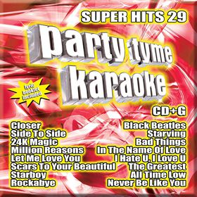 CD - Party Tyme Karaoke: Super Hits 26