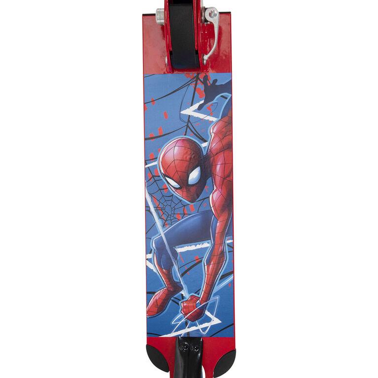 Marvel Spider-Man par Huffy - Trottinette pliante - à deux roues