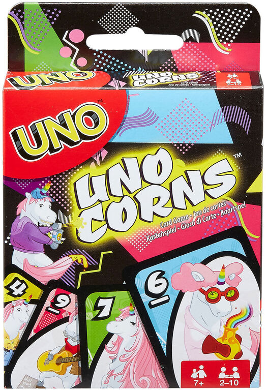 Jeu de cartes UNOcorns