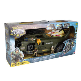 Soldier Force Mega Helicopter Playset - R Exclusive