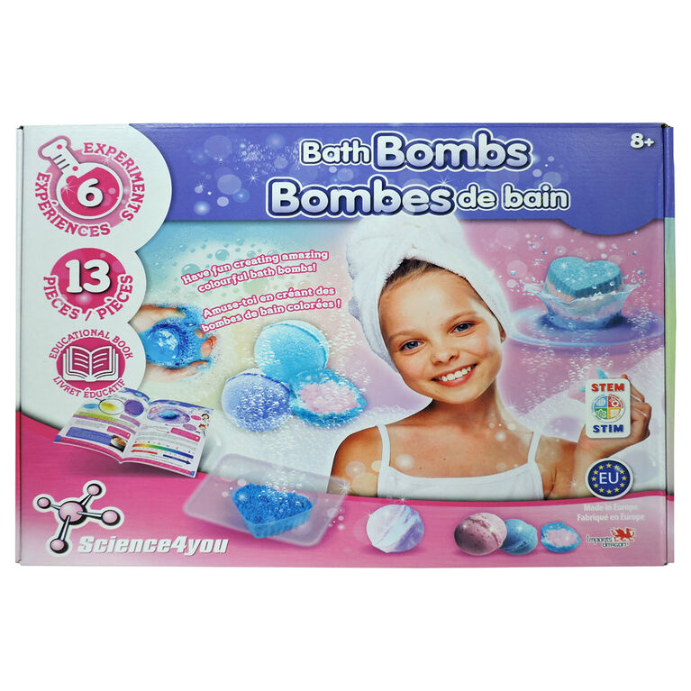 Science4you - Bath Bombs