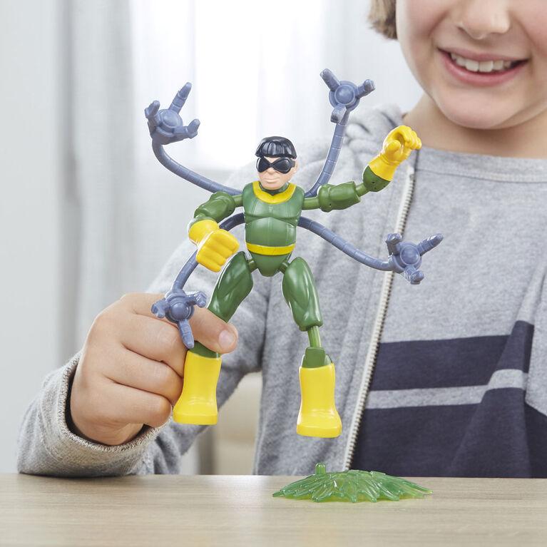 Marvel Spider-Man Bend and Flex - Spider-Man en costume noir Vs Doc Ock