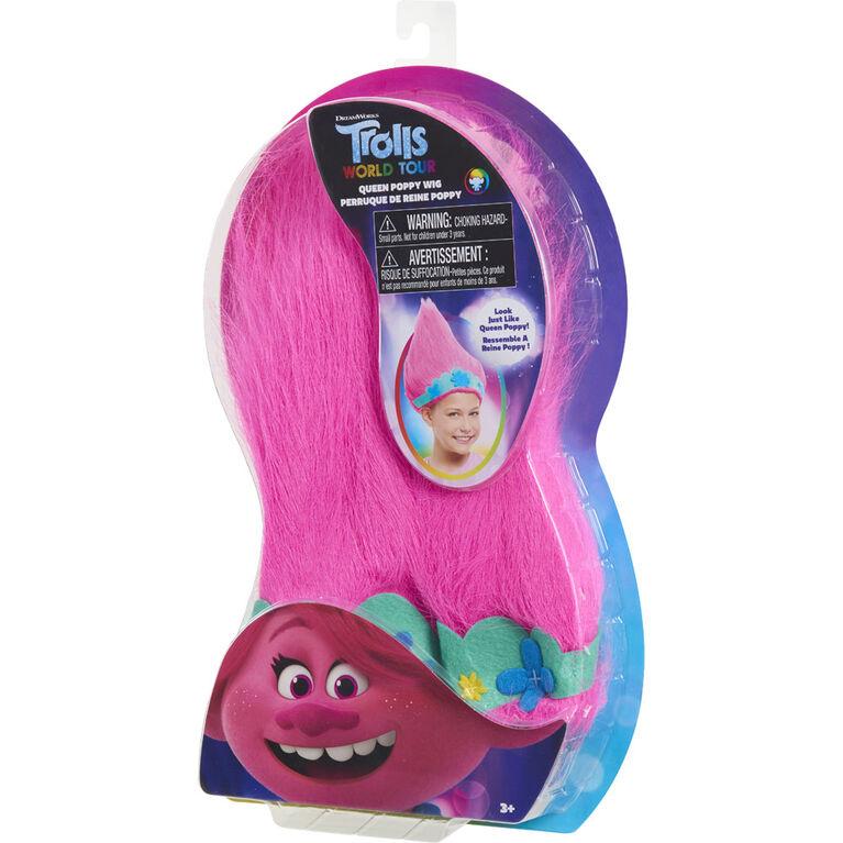 DreamWorks Trolls World Tour Troll-rific Poppy Wig