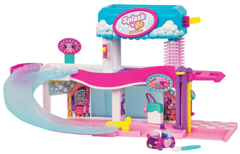 Shopkins Cutie Cars Splash N' Go Spa Wash