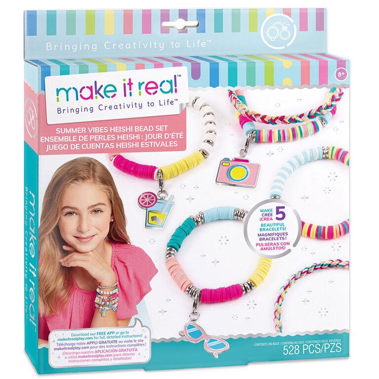 Make It Real - Heishe Bead Bracelet