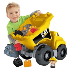 Mega Bloks - CAT - Dump Truck (7845)