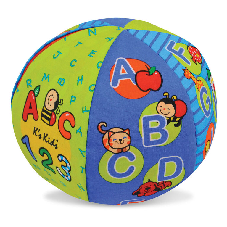 Melissa & Doug K's Kids 2-in-1 Talking Ball Educational Toy - ABC et compter 1-10