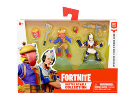 Fortnite Battle Royale Collection: Duo Pack- Beef Boss & Grill Sergeant