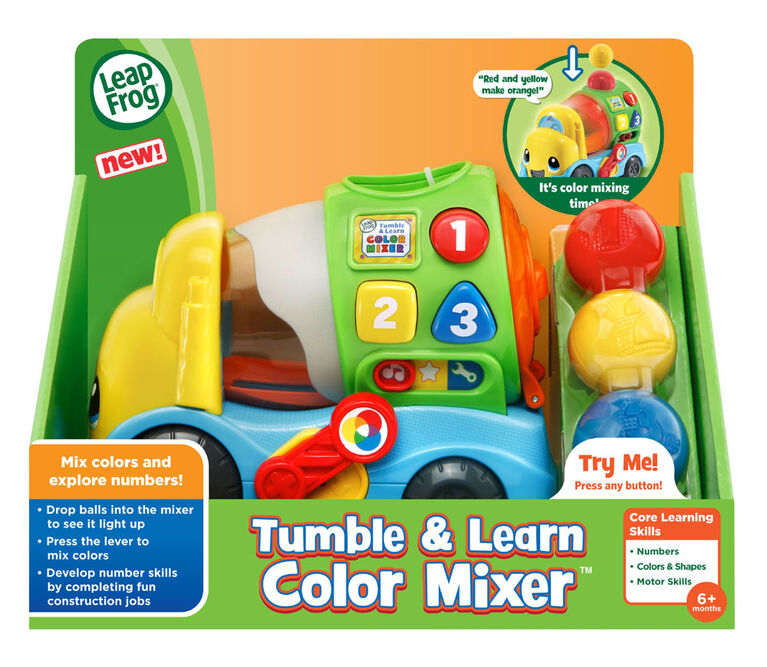 LeapFrog Tumble & Learn Color Mixer - English Edition