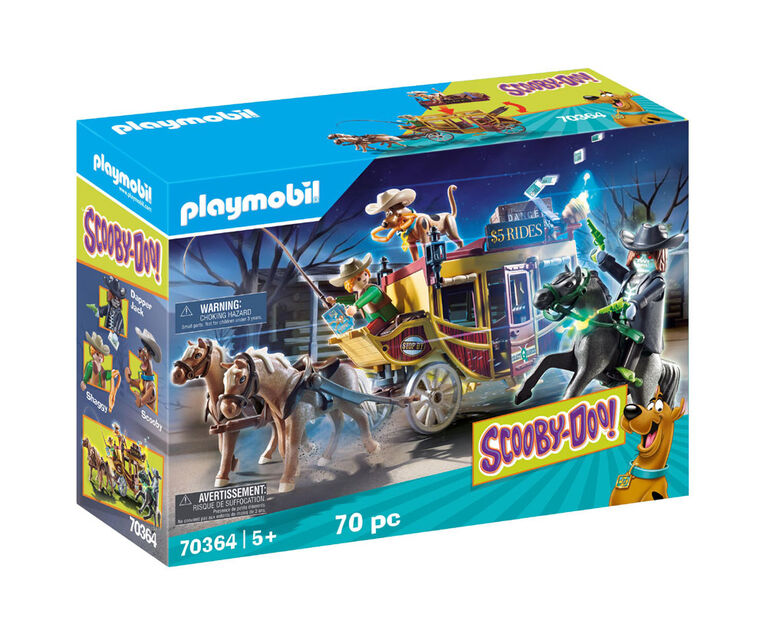 SCOOBY-DOO! Aventures au Far West - Playmobil