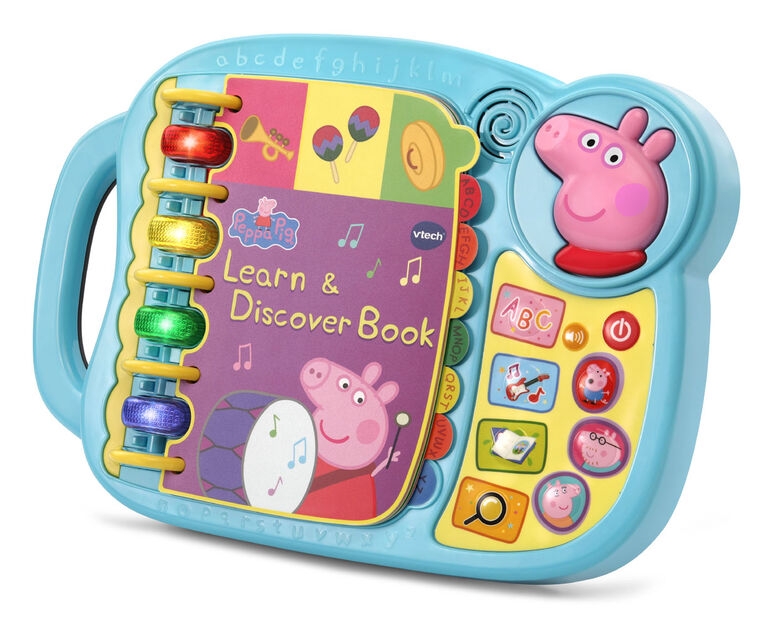 VTech Peppa Pig Learn & Discover Book - Édition anglaise